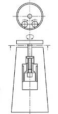 ロール駆動型フリクションスクリュープレス