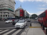 1.ブエノスアイレス市内の新しい車