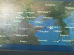 大韓機の航路